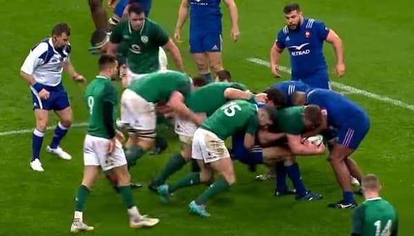 France vs Ireland six nations 2018 photo
