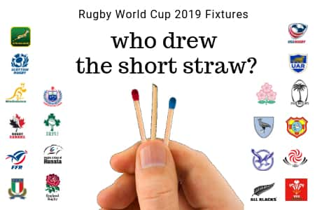Rugby World Cup 2019 Fixtures banner